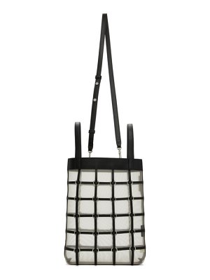 3.1 phillip lim black mini billie twisted cage tote