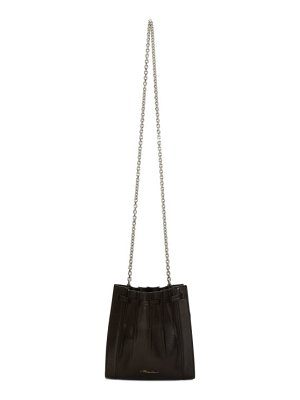 3.1 phillip lim black mini pleated florence bag