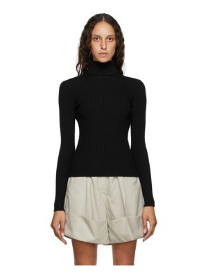 3.1 phillip lim black wool turtleneck