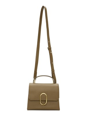 3.1 phillip lim brown mini alix top handle satchel