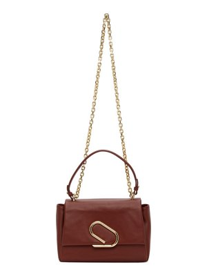 3.1 phillip lim burgundy alix soft chain bag