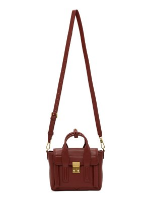 3.1 phillip lim burgundy mini pashli bag