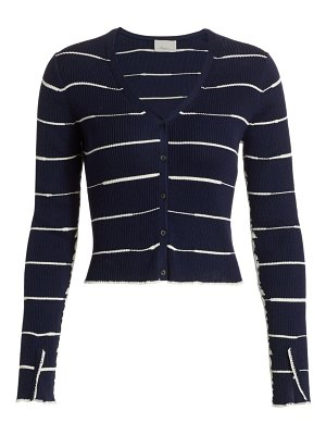 3.1 phillip lim cropped wool blend cardigan