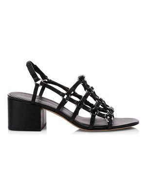 3.1 phillip lim cube cage leather slingback sandals