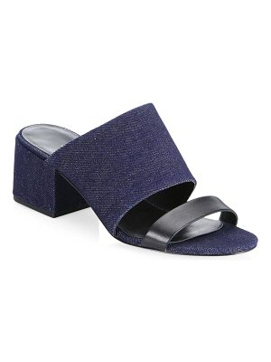 3.1 phillip lim cube double strap sandals