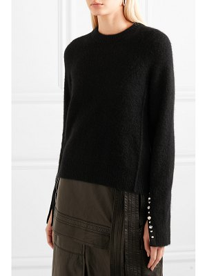 3.1 phillip lim embellished knitted sweater