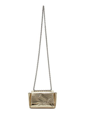 3.1 phillip lim gold nano alix soft chain shoulder bag