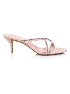 3.1 phillip lim kiddie crystal-embellished leather thong sandals