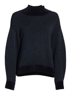 3.1 phillip lim long-sleeve double-face lurex turtleneck sweater