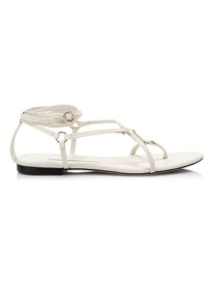 3.1 phillip lim louise flat leather sandals
