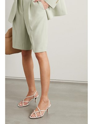 3.1 phillip lim louise leather slingback sandals