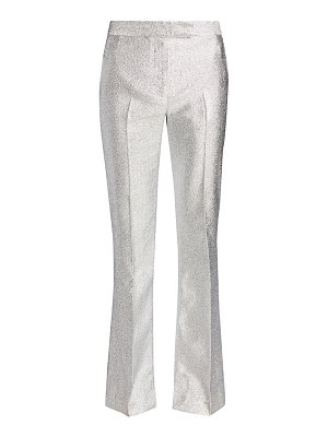 3.1 phillip lim metallic lame slim-leg trousers