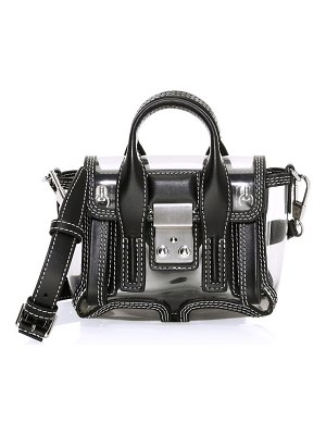 3.1 phillip lim nano pashli transparent satchel
