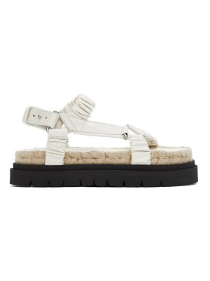 3.1 phillip lim off-white noa platform espadrille sandals