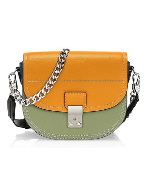 3.1 phillip lim pashli leather saddle shoulder bag