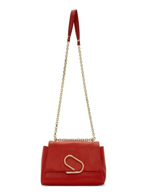 3.1 phillip lim red alix soft chain bag