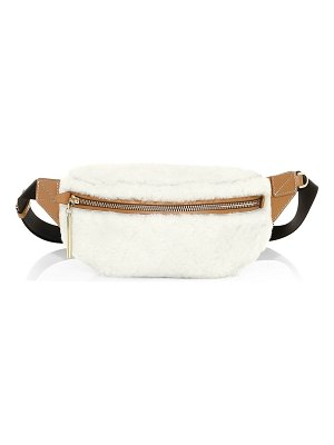 3.1 phillip lim shearling & leather belt bag