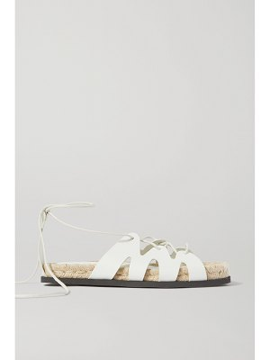 3.1 phillip lim + space for giants yasmine leather espadrille sandals