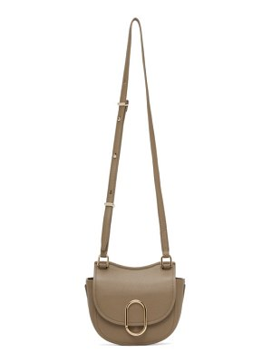 3.1 phillip lim taupe mini hunter alix bag