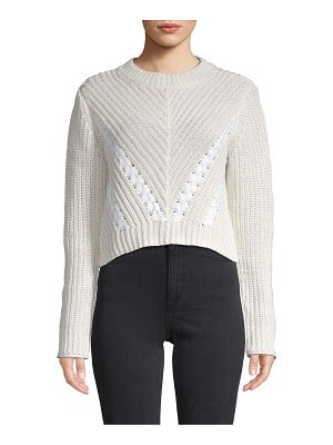 3.1 phillip lim Textured Cropped Sweater