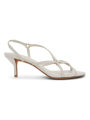 3.1 phillip lim white louise strappy 60mm sandals