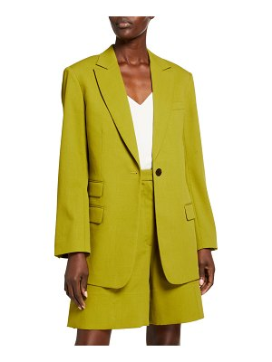 3.1 phillip lim Wool Crepe Relaxed Blazer