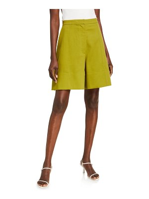 3.1 phillip lim Wool Crepe Tailored Shorts