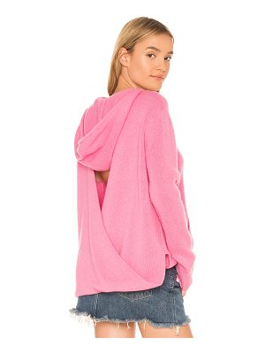 360Cashmere Bow Hoodie