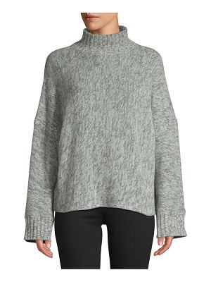 360Cashmere Cashmere Wide Sleeve Mockneck Sweater