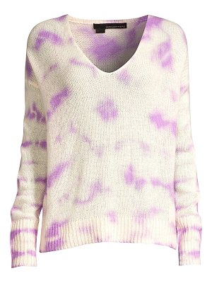 360Cashmere itzel tie-dyed knit cashmere sweater