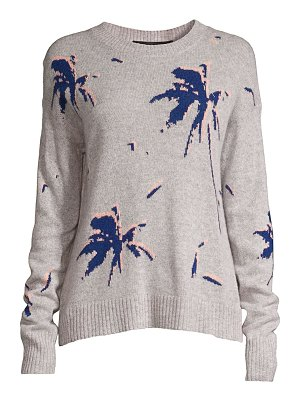 360Cashmere kai palm trees cashmere sweater