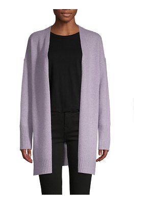 360Cashmere Open-Front Cashmere Cardigan Sweater