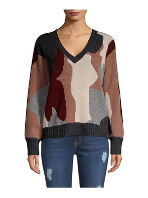 360Cashmere skull cashmere cropped sweater