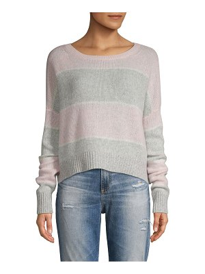 360Cashmere Striped Cashmere Sweater