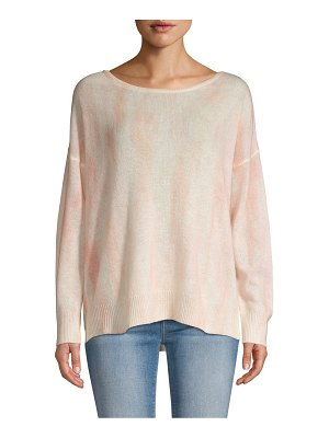 360Cashmere Tie-Dyed Cashmere Sweater