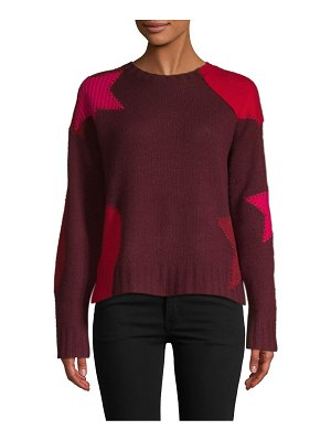 360Sweater Cropped Star Cashmere Sweater
