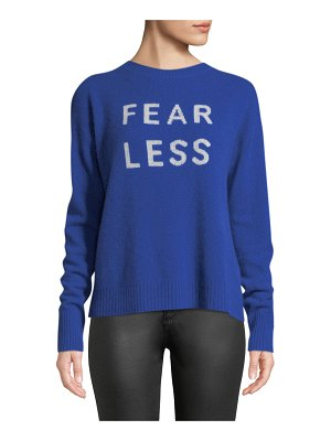 360Sweater Fear Less Cashmere Pullover Sweater