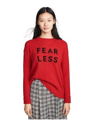 360Sweater fear less cashmere sweater