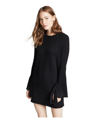 360Sweater rowyn cashmere sweater dress with tie sleeve