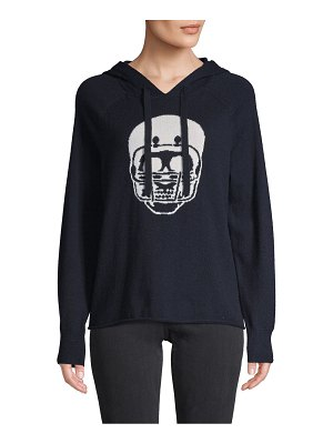 360Sweater Skull Cashmere Hoodie