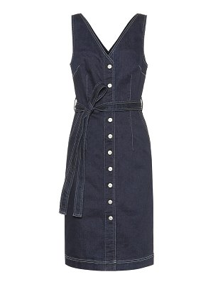 3x1 albany denim midi dress