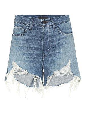 3x1 blake high-rise denim shorts