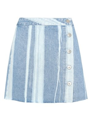 3x1 higher ground denim skirt