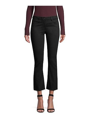 3x1 w25 crop mid-rise bootcut jeans