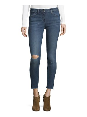 3x1 Midway Extreme Cropped Skinny Jeans