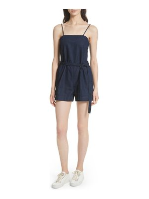 3x1 NYC cami denim romper