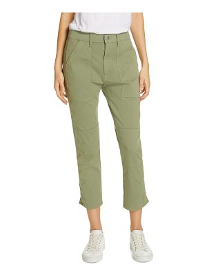 3x1 NYC simone twill crop straight leg trousers