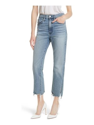3x1 NYC w3 higher ground side split ankle straight leg jeans
