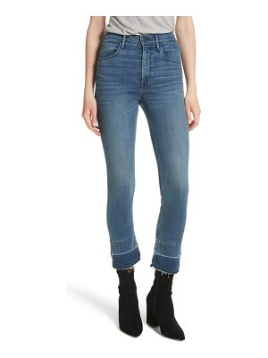3x1 NYC w4 abigail released split hem ankle skinny jeans