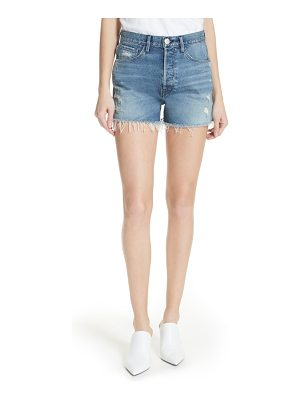 3x1 NYC w4 blake raw hem denim shorts